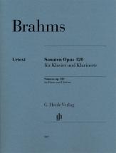 Brahms J. - Klarinettensonaten Op.120 - Clarinette and Piano
