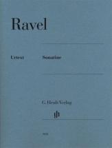 Ravel M. - Sonatine - Piano