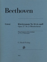 Beethoven L.v. - Piano Sonata No. 14 C Sharp Minor Op. 27,2 [moonlight]