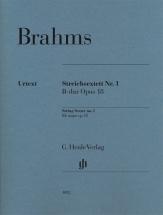 Brahms J. - String Quartet N°1 Bb Major Op.18