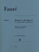 Faure G. - Romance A-dur Op.69 - Violoncelle and Piano