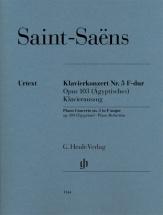 Saint-saens Camille - Concerto Pour Piano N°5 Op.103 (dit L