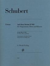 Schubert Franz - Sur Le Fleuve D 943 - Chant, Cor and Piano