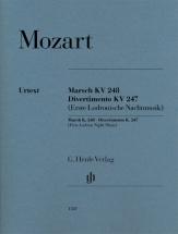 Mozart W.a. - Marsch Kv 248 / Divertimento Kv 247 (erste Lodronische Nachtmusik)