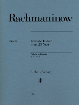 Rachmaninov S. - Prelude D-dur Op.23 N°4 - Piano
