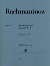Rachmaninov S. - Prelude G-dur Op.32 N°5 - Piano