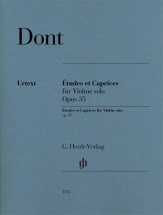 Dont Jakob - Etudes and Caprices Op.35 - Violon Solo