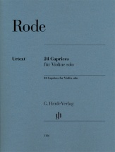 Rode Pierre - 24 Caprices - Violon