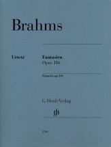 Brahms Johannes - Fantaisies Op.116 - Piano