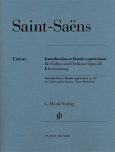 Saint-saens Camille - Introduction Et Rondo Capriccioso Op.28 - Violon and Piano
