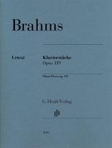 Brahms Johannes - Piano Pieces Op.119