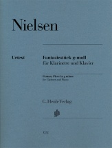 Nielsen C. - Fantasiestuck G-moll - Clarinette and Piano