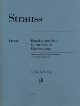 Strauss Richard - Concerto Pour Cor N°1 - Op.11 - Cor and Piano