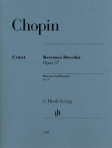 Chopin F. - Berceuse En Re Bemol Op.57 - Piano