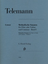 Telemann - Sonates Methodiques Vol.1