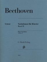 Beethoven L.v. - Variations For Piano, Volume 2