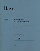 Ravel M. - Sonate Sol Majeur - Violon and Piano