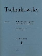 Tchaikovsky P. - Valse Scherzo Op.34 - Violon and Piano