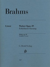 Brahms J. - Waltzes Op. 39, Easy Arrangement By The Composer