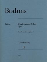 Brahms J. - Sonate Pour Piano En Ut Majeur Op.1