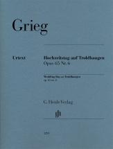 Grieg E. - Jour De Noces A Troldhaugen Op.65 N°6 - Piano