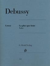 Debussy Claude - La Plus Que Lente - Valse - Piano