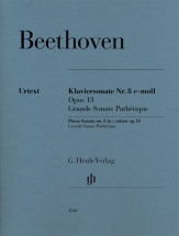 Beethoven  L.v. - Piano Sonata N°8 Op.13 Grande Sonate Pathetique