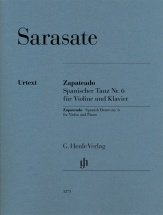 Sarasate Pablo - Zapateado Danse Espagnole N.6 - Violon and Piano