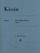 Kissin Evgeny - Four Piano Pieces Opus.1