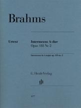 Brahms Johannes - Intermezzo In A Major Op.118 N°2 - Piano