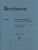 Beethoven L.v. - Sonate A-dur Op.69 - Violoncelle and Piano