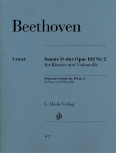 Beethoven L.v. - Sonate D-dur Op.102 N°2 - Violoncelle and Piano