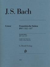 Bach J.s. - Suites Francaises Bwv 812-817 (sans Doigtes)