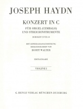 Haydn J. - Concerto For Organ (harpsichord) With String Instruments C Major Hob. Xviii:10