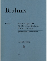 Brahms J. - Sonatas For Piano And Clarinet (or Viola) Op. 120, 1 And 2 (version For Viola)