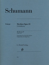 Schumann Robert - Myrthen Op.25