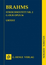 Brahms Johannes - String Trio N°2 Op.36 - Score