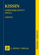 Kissin Evgeny - String Quartet Opus 3 - Score