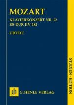 Mozart W.a. - Concerto Pour Piano N.22 Kv 482 - Score