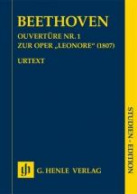 Beethoven L.v. - Ouverture N°1 Pour L