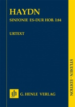 Haydn Joseph - Sinfonie Es-dur Hob. I:84 - Score