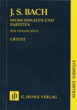Bach J.s. - Sonatas And Partitas Bwv 1001-1006 For Violin Solo (notated And Annotated Version)