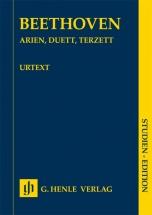 Beethoven L.v. - Arias, Duos & Trios - Score