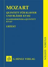Mozart W.a. - Quintet K. 452 For Piano And Wind Instruments And Harmonica Quintet K. 617