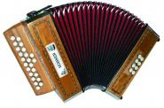 Hohner Merlin Ii Touches Boutons En Sol/do