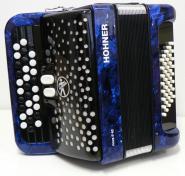 Hohner Nova Ii 40 Bleu Touches Boutons