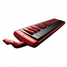 Hohner C 9432-74 - Fire 32 Rouge (touches Noir)