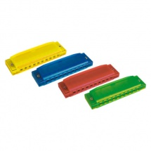 Hohner Harmonica Happy Color - Plastiques - Couleurs Variees