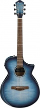 Ibanez Aewc400-ibb Indigo Blue Burst High Gloss