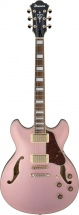 Ibanez Artcore As73g-rgf Rose Gold Metallic Flat